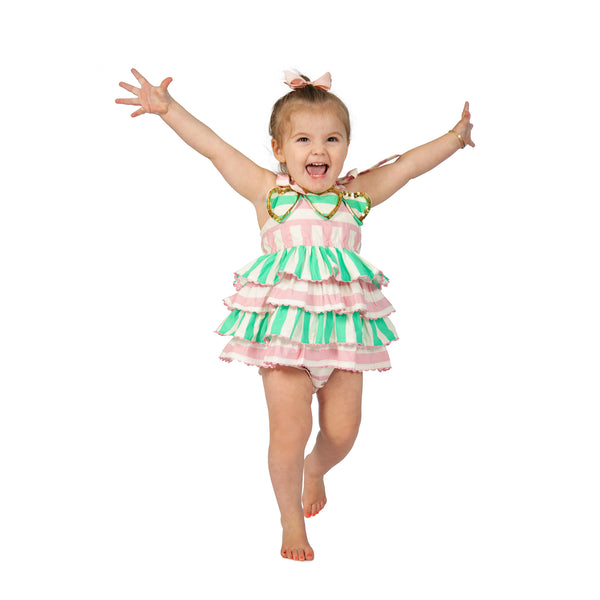 The Menta Romper by Bonita Bambino