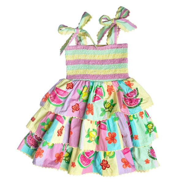 The Mini Anguria Swing Dress by Bonita Bambino