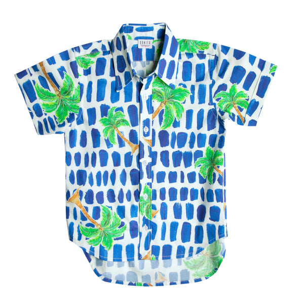 The Mini Palm Party Shirt by Bonita Bambino