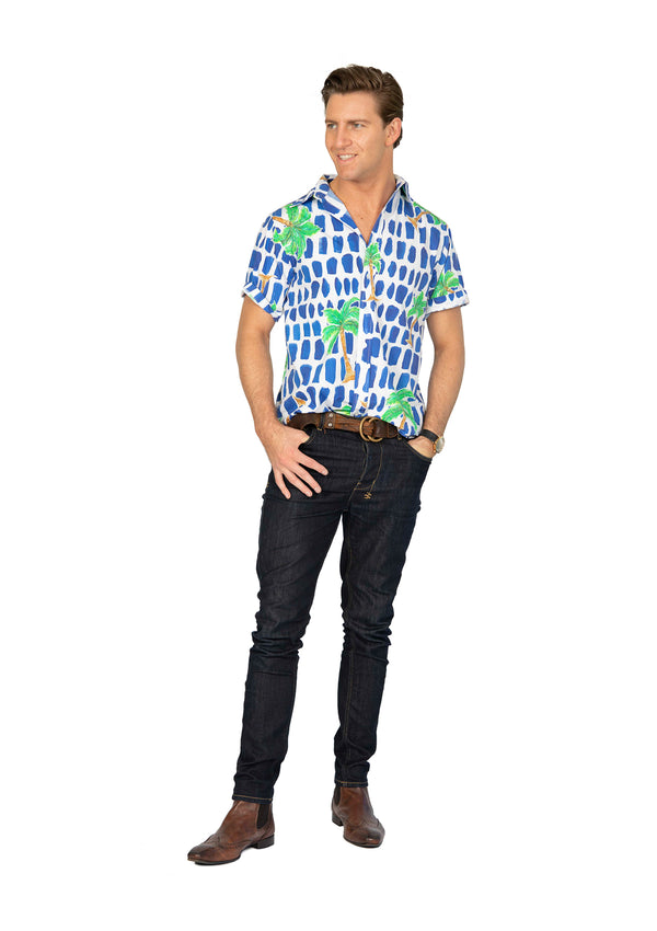 The Palm Party Shirt by Bonita Man / Bonita Collective