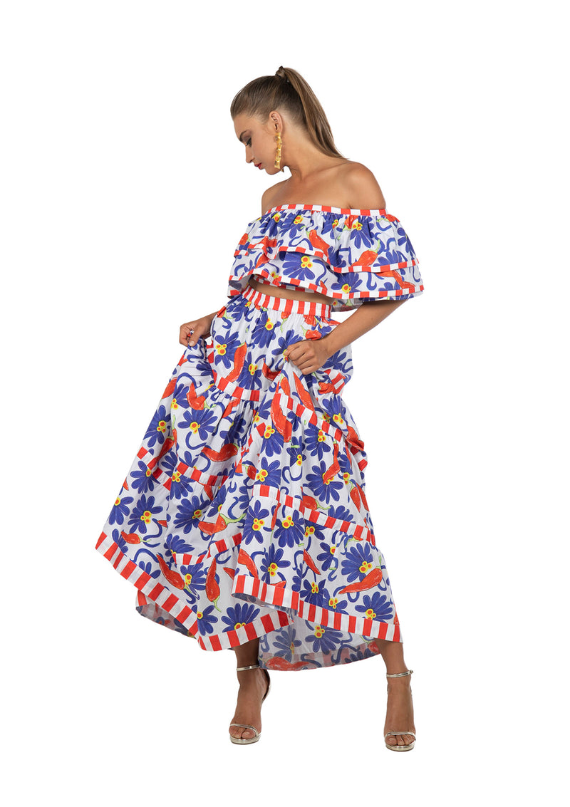 The Peperoncino Skirt by Bonita Collective