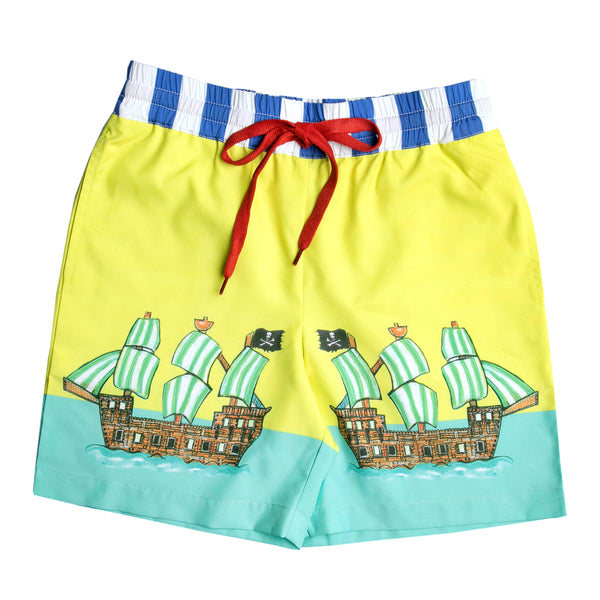 The Pirate Cove Boardshorts by Bonita Bambino