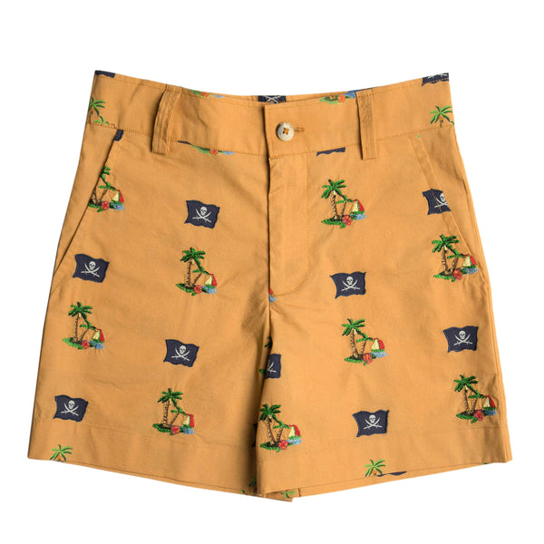 The Pirate Island Tailored Shorts by Bonita Bambino