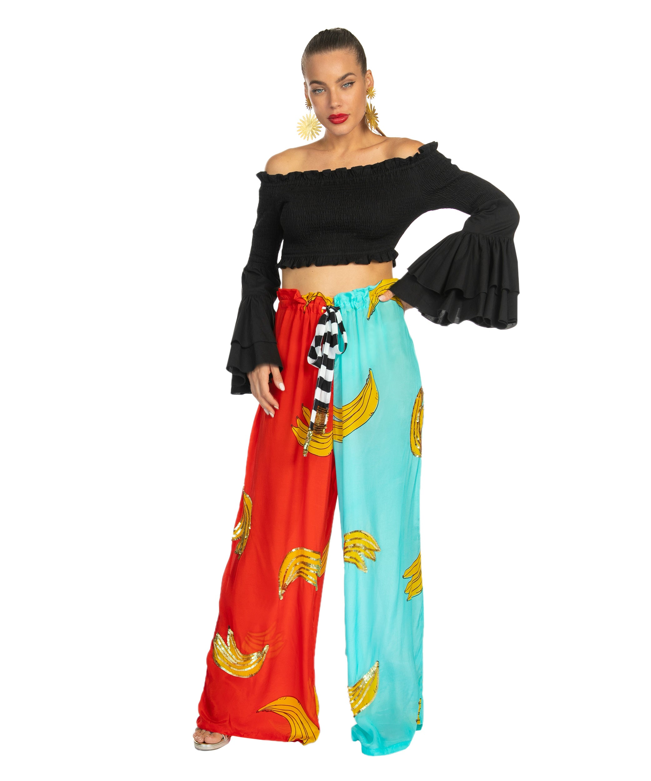 The Platano Drawstring Pant by Bonita Collective