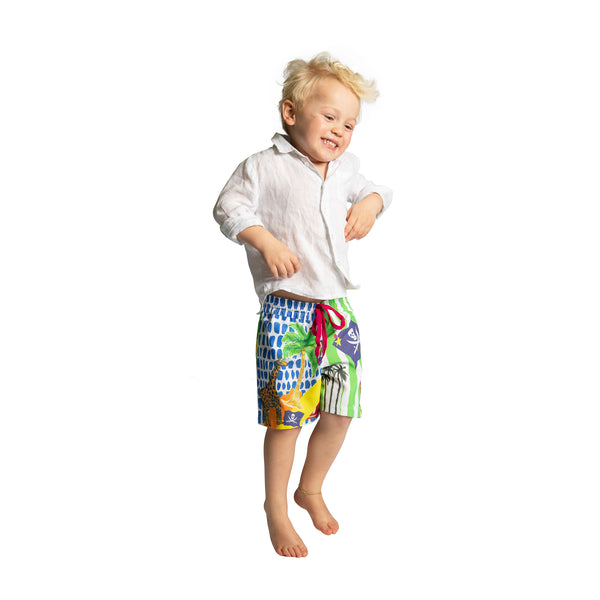 The Treasure Island Boardshorts by Bonita Man / Bonita Collective