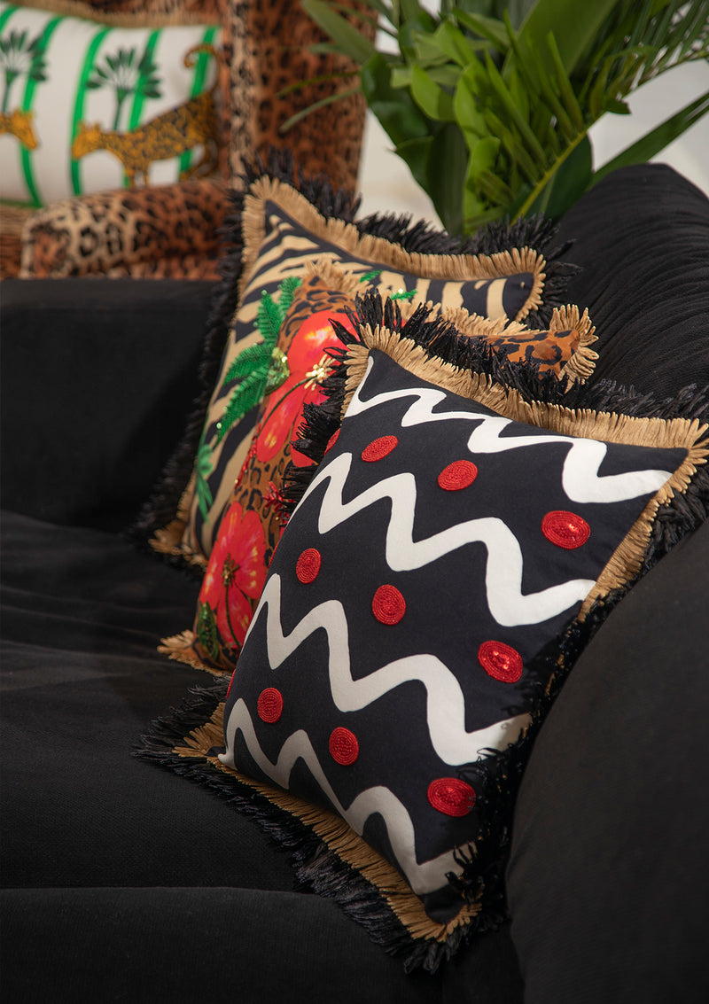 The Tribal Cushion by Bonita Home / Bonita Collective