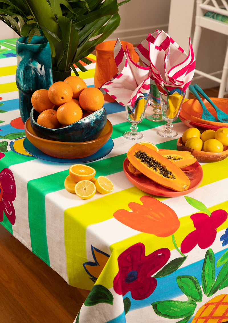 The Tropics Tablecloth by Bonita Home / Bonita Collective