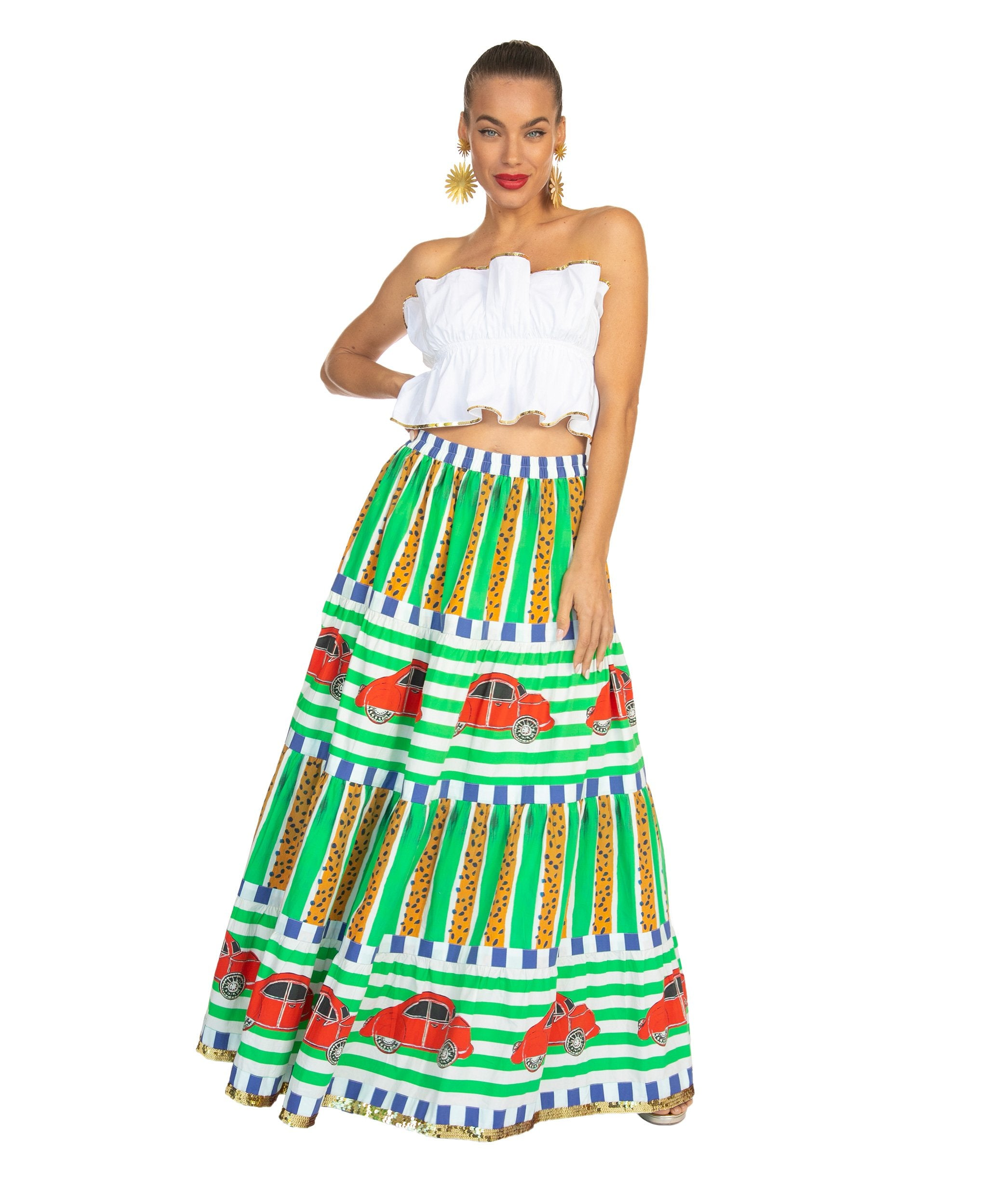 The Vacanze Skirt by Bonita Collective