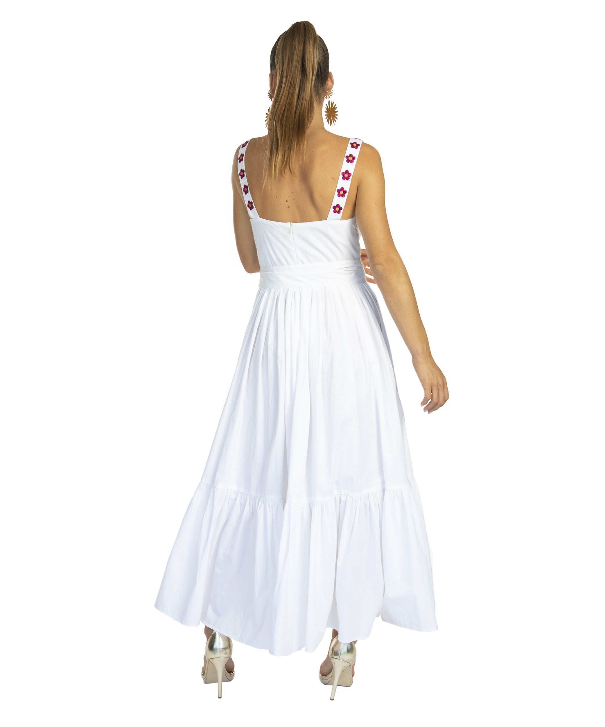 The White Havana Tie Dress