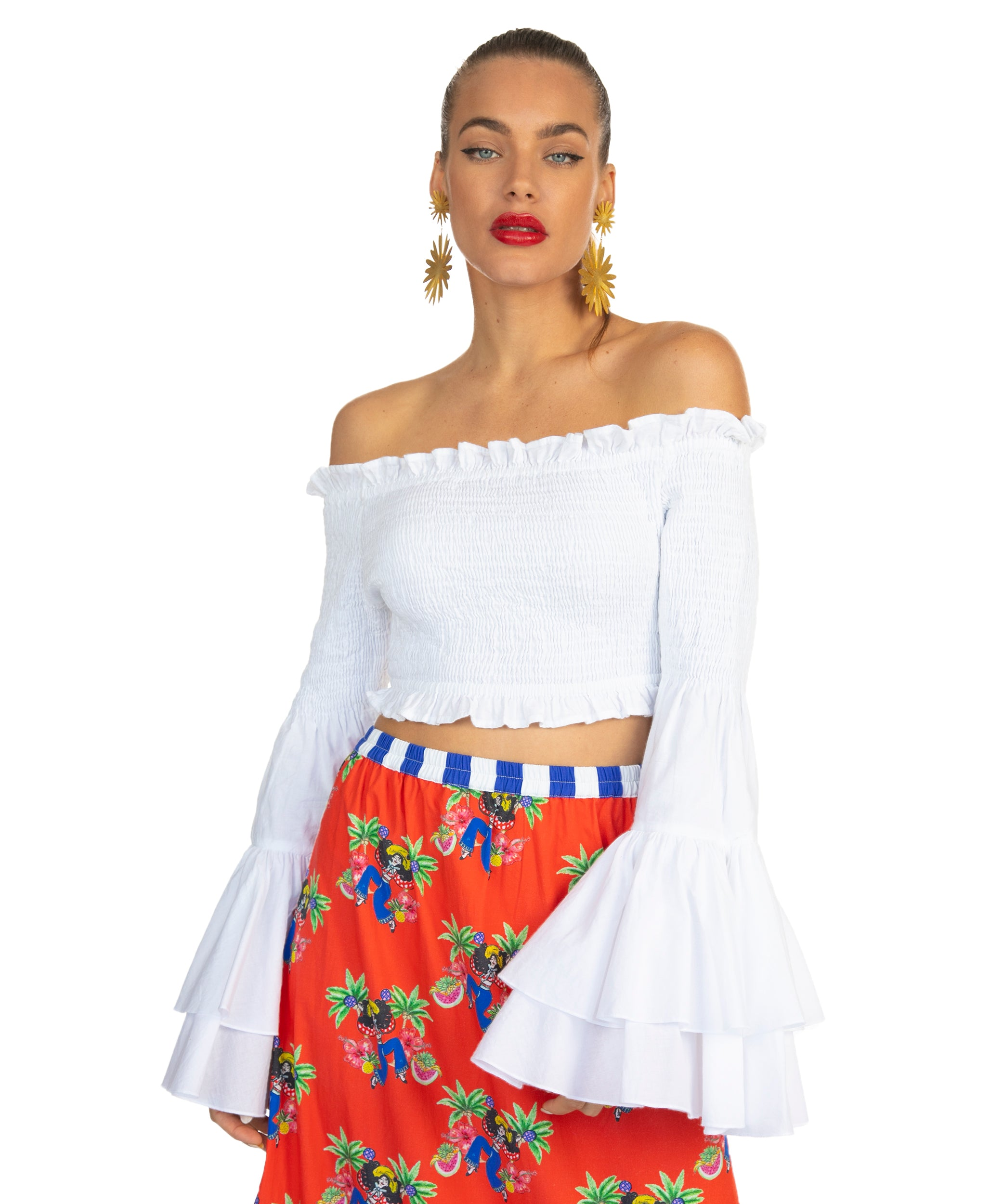 The White Salsa Top by Bonita Collective