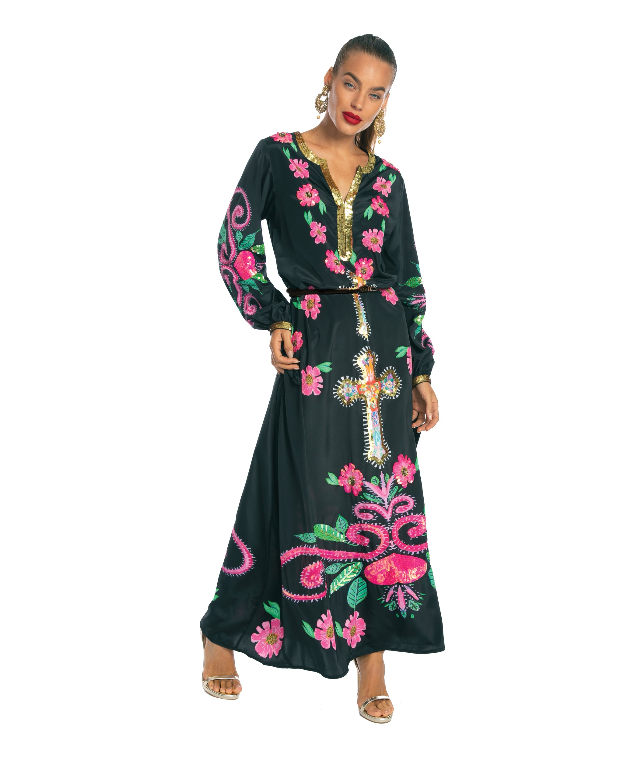 The Mexican Cross Kaftan