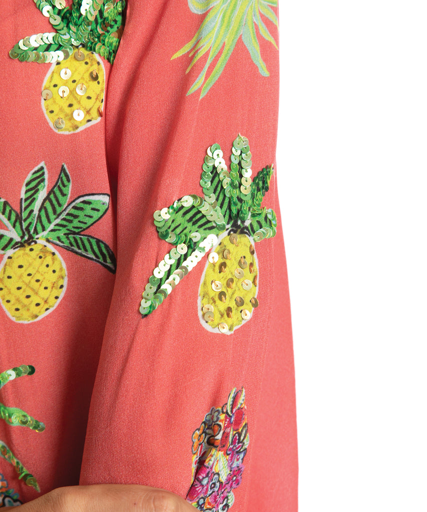 The Pineapple Floral Kaftan