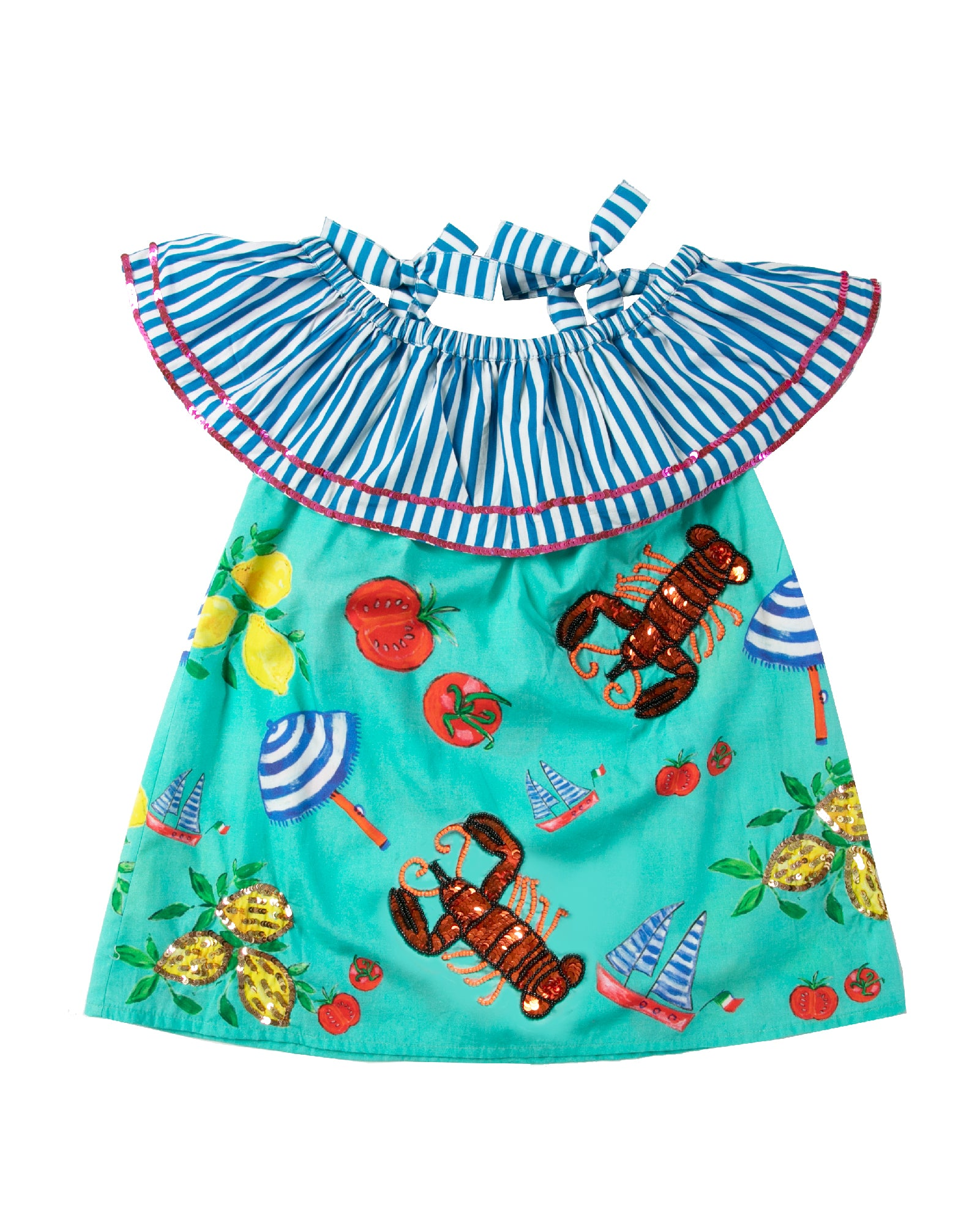 The Spiaggia OTS Dress by Bonita Bambino