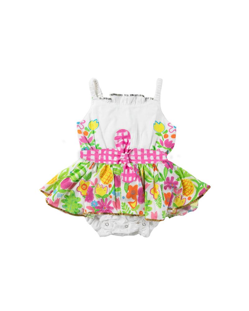 The Tropical Valley Jump Dress by Bonita Bambino