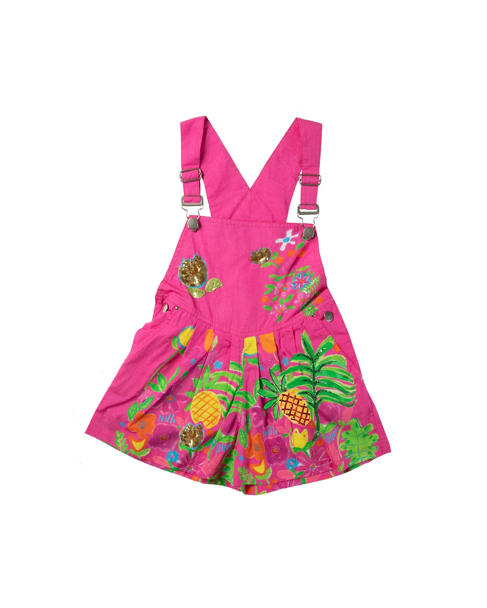 The Tropical Valley Overalls by Bonita Bambino