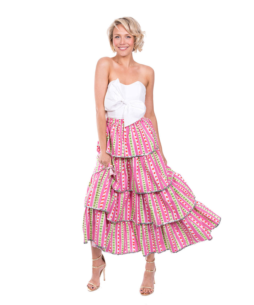 The Hannah Ruffle Skirt by Bonita Kaftans