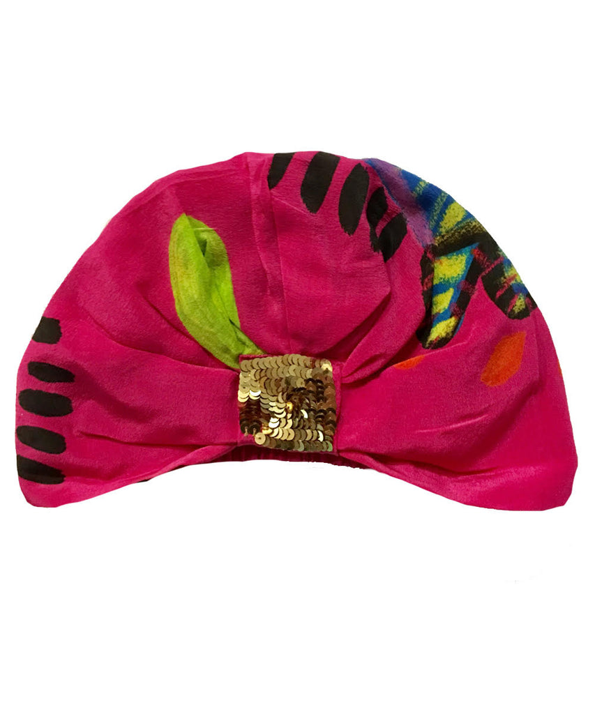 The Pink Luna Turban