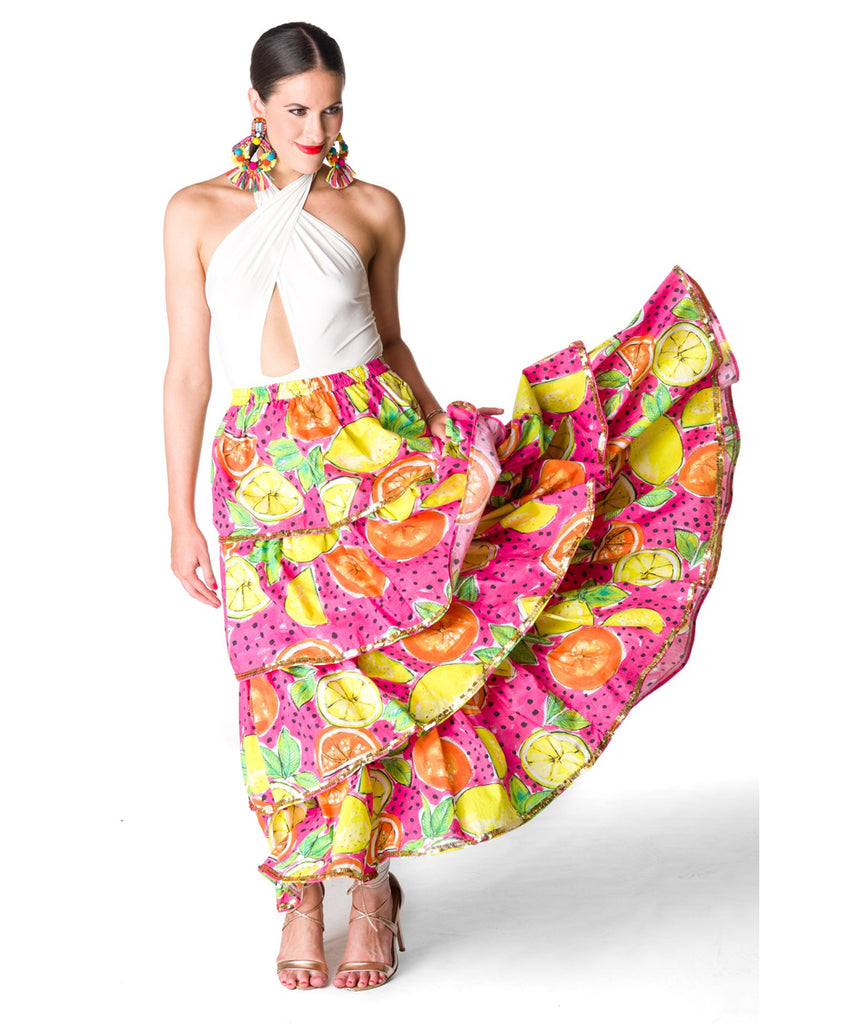 The Positano Ruffle Skirt
