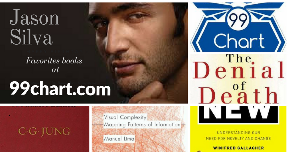 Have a taste of Jason Silva Favorite Books