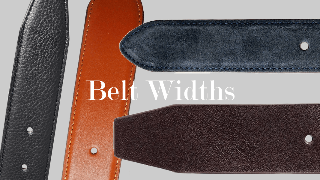 A Guide to Belt Widths