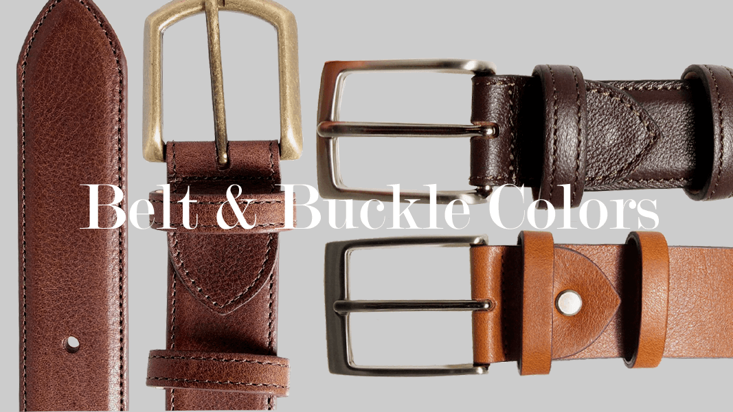 A Guide to Belt and Buckle Color