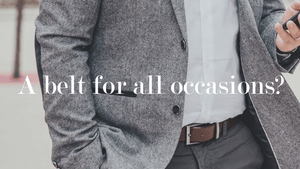 One Belt For All Occasions?
