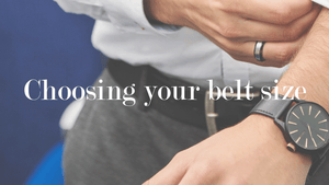 How to Choose the Right Size Belt for Yourself?
