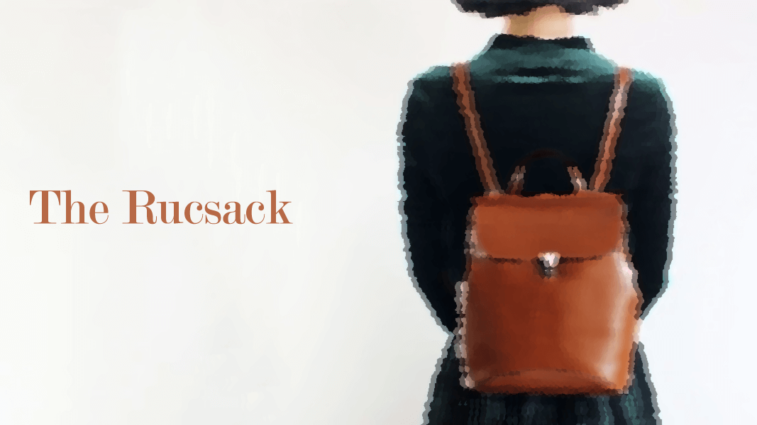8 Bags Styles Through The Seasons: The Backpack