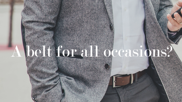 A belt for all occasions?