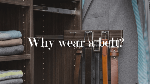 Wardrobe Folded Clothes and Belts