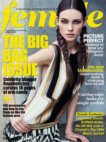 72 Smalldive Ps & Qs Featured on April 2012 Issue of Female Magazine