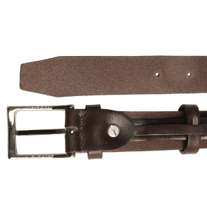 72 Smalldive Mens Belts 30 mm Bridle Leather Belt Brown.