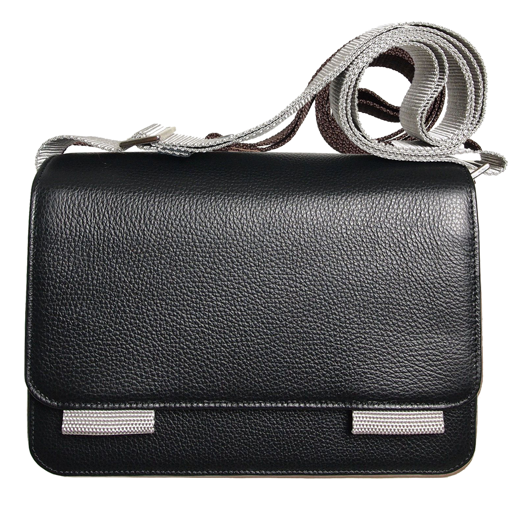 Cross Body Pouch Black-Unisex Bags-72 Smalldive