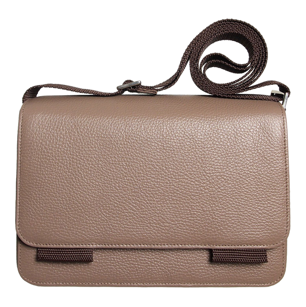 Cross Body Pouch Taupe-Unisex Bags-72 Smalldive