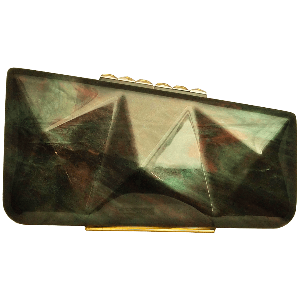 Minaudière in Labrodorite Motif-Clutches-72 Smalldive