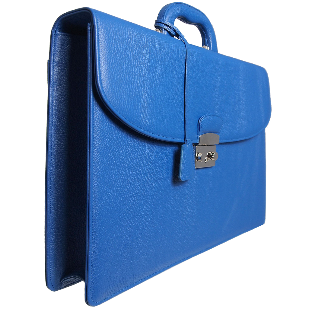 Grained Leather Attaché-Custom Order-72 Smalldive