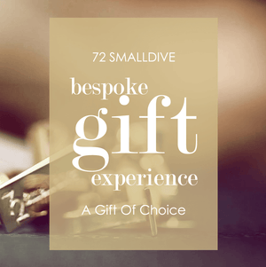 72 Smalldive Gift Card The Bespoke Gift Card.
