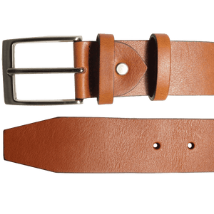 72 Smalldive Mens Belts 40 mm Bridle Leather Belt Tawny.