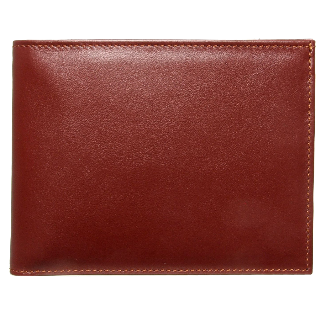 72 Smalldive Mens Wallets 10 Credit Card Buffed Leather Billfold Brown.