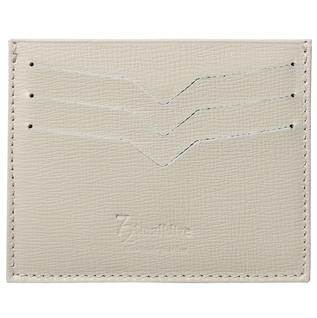72 Smalldive Unisex Wallets Saffiano Credit Card Wallet Ivory.