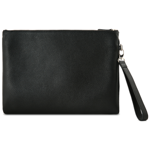 Grained Calf Leather Duo Folio Black-Folios-72 Smalldive