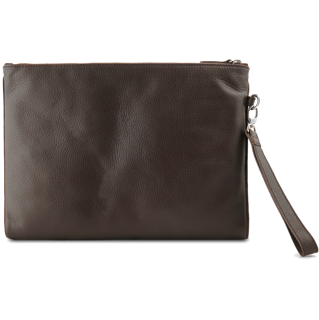 Grained Calf Leather Duo Folio Brown - 72 Smalldive