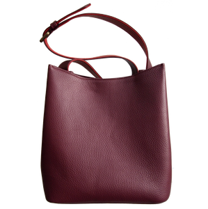 Shoulder Hobo Tote Bordeaux-Red-Handbag-72 Smalldive