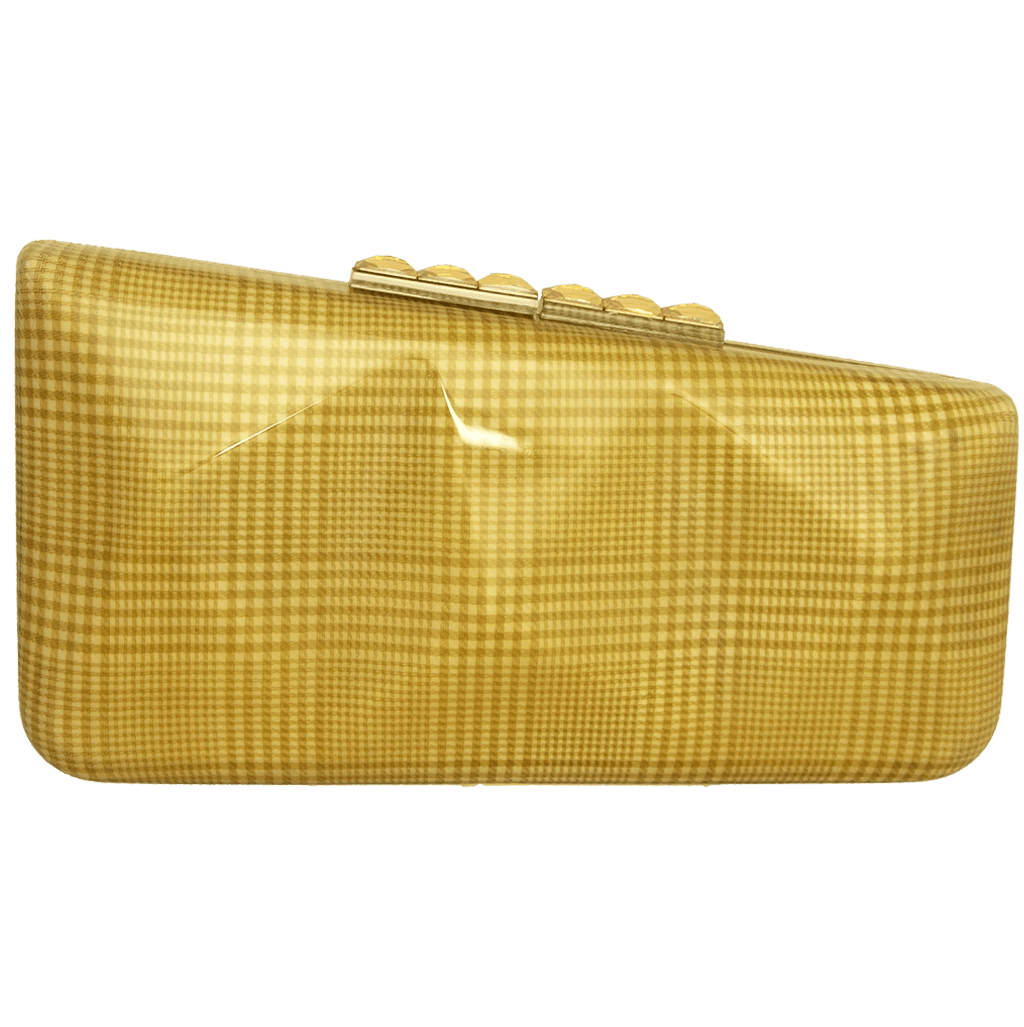 Minaudiére in Cream Glen Plaid-Minaudiere-72 Smalldive