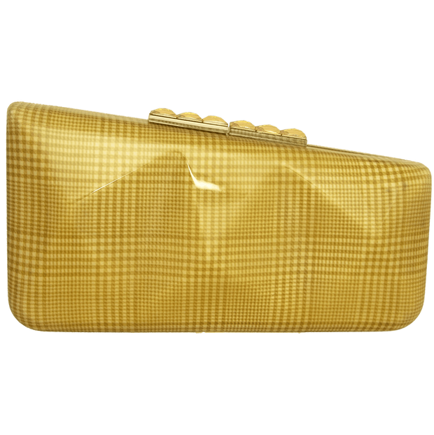 Minaudiére in Prince of Wales Plaid Cream-Minaudiere-72 Smalldive
