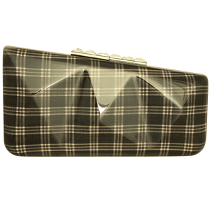 Minaudière in Grey Glen Plaid-Minaudiere-72 Smalldive