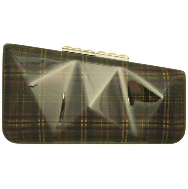 Minaudière in Tartan Plaid Lime - 72 Smalldive