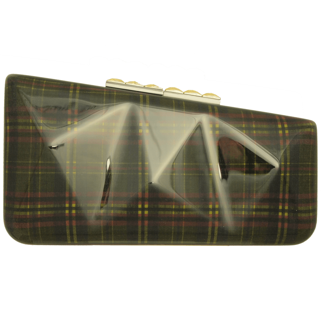 Minaudière in Tartan Plaid Lime-Minaudiere-72 Smalldive