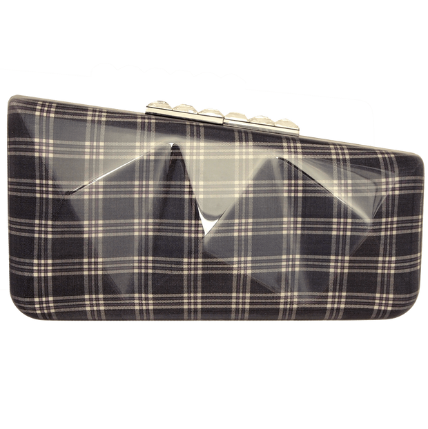 Minaudière in Prince of Wales Plaid Midnight - 72 Smalldive