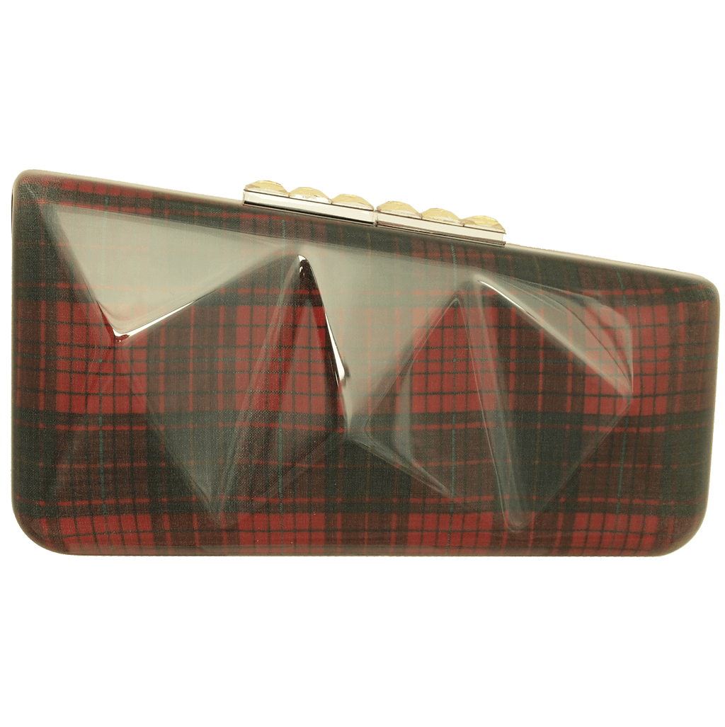 Minaudière in Red Tartan-Clutches-72 Smalldive